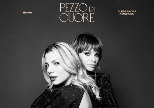 """Emma e Alessandra Amoroso presentano """"Pezzo di cuore"""""""